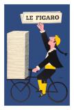 Le Figaro Posters by Raymond Savignac