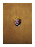 Marilyn Monroe dorée, 1962 Impression giclée par Andy Warhol