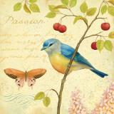 Garden Passion IV Print by Daphne Brissonnet