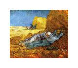 Middagsvila, efter Millet, ca 1890 Gicléetryck av Vincent van Gogh