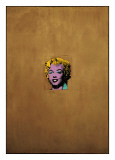 Gold Marilyn Monroe, 1962 Gicle-tryk af Andy Warhol