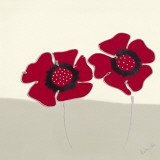 Red Flowers I Prints by Lindsay Hill