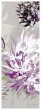 Purple Allure III Art by Sally Scaffardi