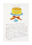 Andy Warhol - Wild Raspberries, c.1959 (orange and yellow) Digitálně vytištěná reprodukce