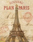 Letter from Paris Kunstdrucke von Hugo Wild