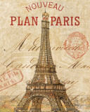 Letter from Paris Print by Andrea Laliberte