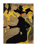 Henri de Toulouse-Lautrec - Le Divan Japonais - Giclee Baskı