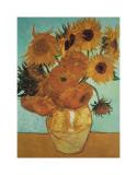 Doce girasoles Lámina giclée por Vincent van Gogh