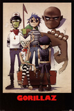 Gorillaz – All Here Print