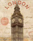 Letter from London Prints by Wild Apple Portfolio