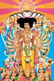 Jimi Hendrix – Axis bold as love Plakát