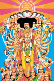 Jimi Hendrix – Axis bold as love - Poster