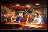 Evening At Ricks - George Bungarda Prints