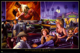 Hollywood Drive-In - George Bungarda Prints