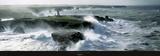 Golpe de viento sobre la Isla de Poulains Lámina por Philip Plisson
