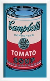 Campbell's Soup Can, 1965 (Pink and Red) Posters by Andy Warhol