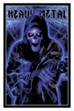 Heavy Metal - Blacklight Poster Posters