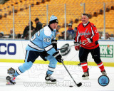 Mario Lemieux 2011 NHL Winter Classic Alumni Game Action Photo