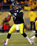 Ben Roethlisberger 2010 Playoff Action Photo