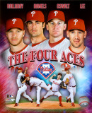 The Philadelphia Phillies Four Aces Portrait Plus Foto