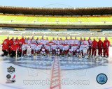 The Washington Capitals Team Photo 2011 NHL Winter Classic Photo