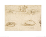 Military Machines Giclee Print by Leonardo Da Vinci