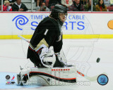 Jonas Hiller 2010-11 Action Photo