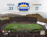 Notre Dame Fighting Irish Sun Bowl Champions with Overlay Photo