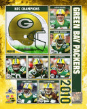 Green Bay Packers 2010 NFC Championship Composite Fotografía