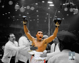 Muhammad Ali vs Sonny Liston Spotlight Photo