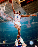 NBA Julius Erving 1974 Action Photo