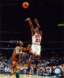 Michael Jordan Game 6 of the 1996 NBA Finals Action Photographie