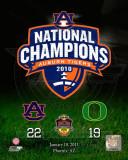 Auburn Tigers 2011 Tostitos Bowl, BCS National Championship Game Composite Photo