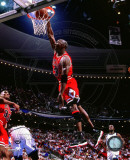 Michael Jordan 1995-96 Action Photographie