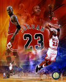 NBA Michael Jordan 2011 Legends Composite Photo