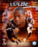 NBA Dwayne Wade 2010 Portrait Plus Photo