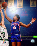 Julius Erving 1975 Action Photo