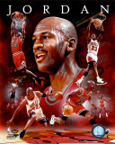 NBA Michael Jordan 2011 Portrait Plus Photo