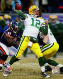 Aaron Rodgers 2010 NFC Championship Game Action Photo