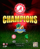 Alabama Crimson Tide Capitol One Bowl Champions Composite Photo