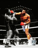 Muhammad Ali Vs. Leon Spinks Las Vegas, NV. 1978 Spotlight Action Photo