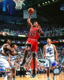 Scottie Pippen Game 2 of the 1998 NBA Finals Action Photo