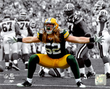 Clay Matthews 2010 Spotlight Action Photo