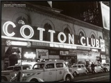 Cotton Club Framed Canvas Print by Michael Ochs