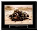 Bravery Framed Canvas Print