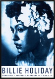 Billie Holiday at Town Hall, New York City, 1948 Framed Canvas Print by Dennis Loren