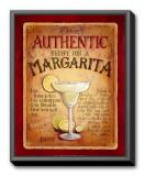 Margarita Framed Canvas Print by Lisa Audit