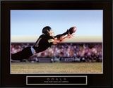 Goals: Football Action Framed Canvas Print