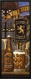 German Beer Framed Canvas Print by Charlene Audrey