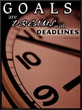 Deadlines Framed Canvas Print
